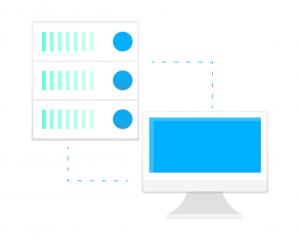 logo server cloud